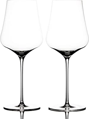 "Bundle - 2 items: Gabriel-Glas - Set of 2 - Austrian Crystal Wine Glass -""StandArt"" Edition, Wine Enthusiast Microfiber Wine Glass Towel"
