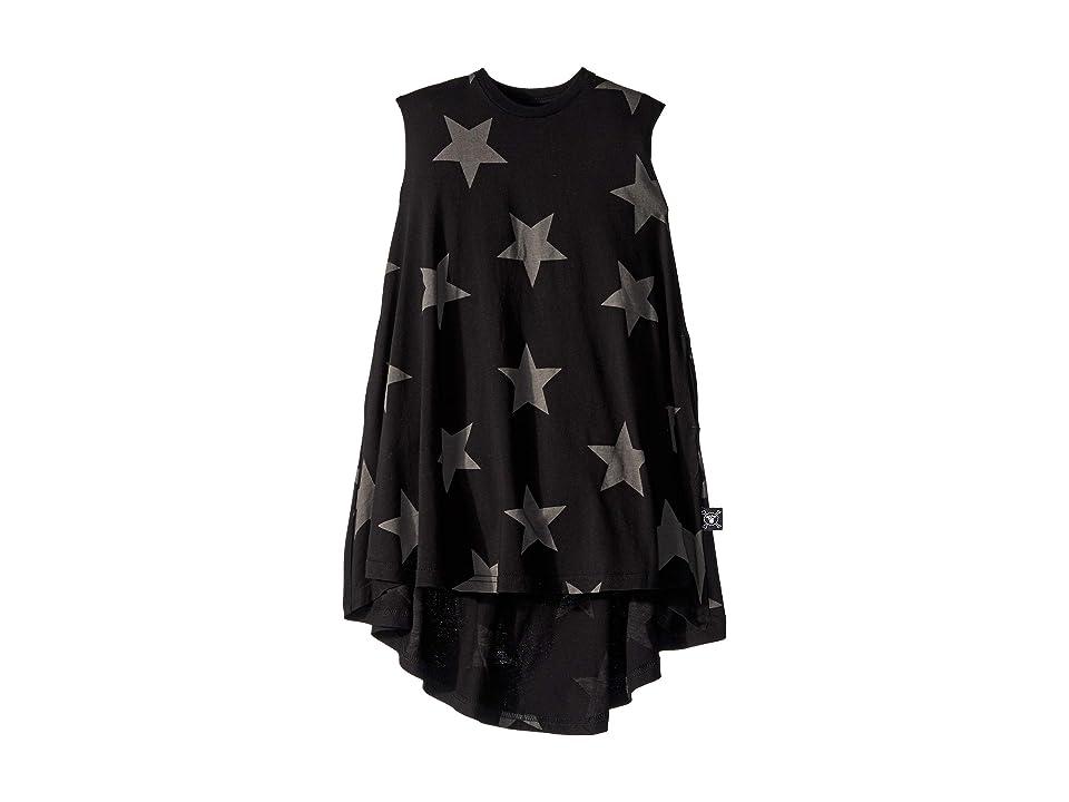 Nununu Star 360 Dress (Toddler/Little Kids) (Black) Girl