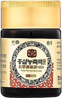 [Gangwoninsam] Korean Red Ginseng Extract Gold 50g / 1.76 fl. oz – Contain 100% 6 Year Korean Red Ginseng Extract, Healthy...