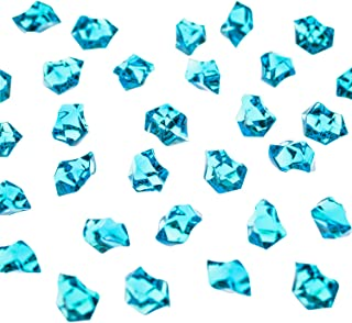 Super Z Outlet Acrylic Color Ice Rock Crystals Treasure Gems for Table Scatters, Vase..