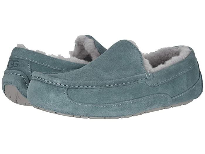 UGG  Ascot (Salty Blue) Mens Slippers