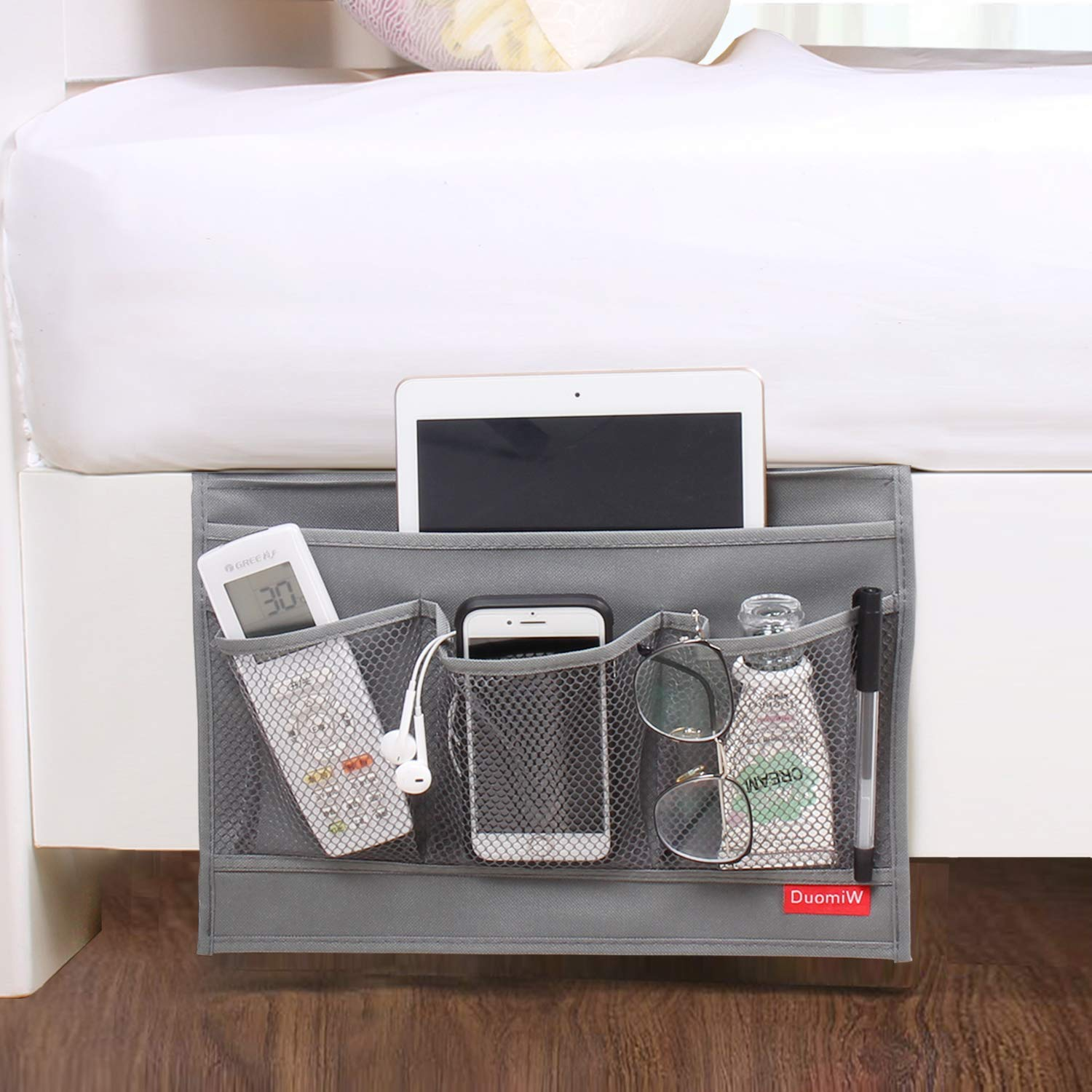 DuomiW Bedside Organizer Magazines Accessories