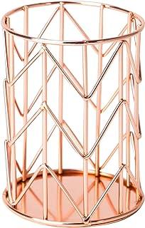 U Brands Pencil Cup, Wire Metal, Copper/Rose Gold - 857U06-24