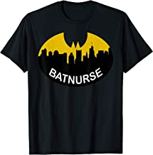 I Work The Night Shift I Am Batnurse Vintage Retro T-Shirt