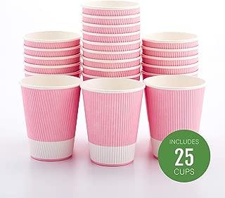 Restaurantware RWA0279LP-25 Hot Beverage Cups, 4 oz, Black
