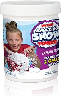 Be Amazing! Toys Amazing Grow Snow Jar, Makes 2 gallon