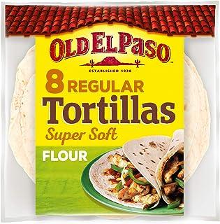 Old El Paso 8 Soft Flour Tortillas, 326 gm