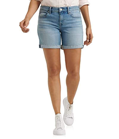 Lucky Brand Mid-Rise Roll Up Shorts in Thomas (Thomas) Women