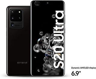 Samsung Galaxy S20 Ultra 5G, 12GB RAM, 128GB, Cosmic Black - UAE Version