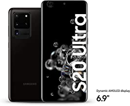Samsung Galaxy S20 Ultra 5G, 16GB RAM, 512GB, Cosmic Black, UAE Version