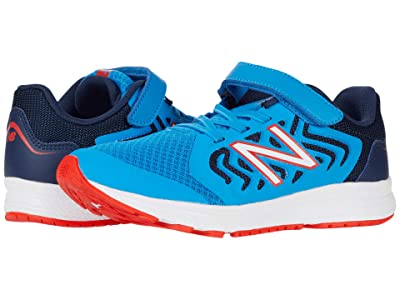 New Balance Kids 519v2 (Little Kid/Big Kid) (Vision Blue/Natural Indigo) Boy