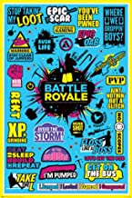 Pyramid America Battle Royale Video Gaming Gamer Cool Wall Decor Art Print Poster 24x36 inch