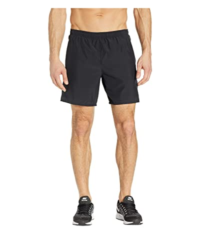 Nike Challenger Shorts 7 2-in-1 (Black/Black/Reflective Silver) Men
