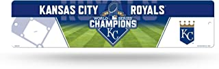 Rico Industries MLB Kansas City Royals 2015 World Series Champion High-Res Plastic Street Sign, Blue, 16 x 3 3/4