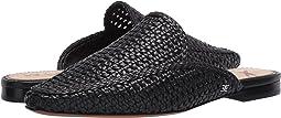 Black Zebu Woven Leather