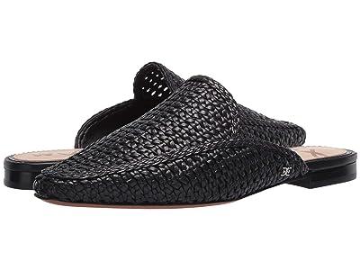 Sam Edelman Elva (Black Zebu Woven Leather) Women