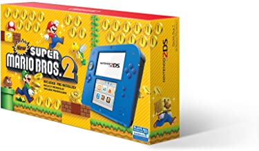 Nintendo 2DS - Electric Blue 2 with New Super Mario Bros. 2 (Game Pre-Installed) - 2DS