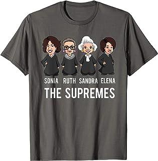2d3b7641b6dc Supreme Court Justices T Shirt, The Supremes Apparel Women.