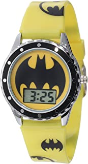 Batman Kids' BAT4071 Batman Watch with Printed Silicone Strap