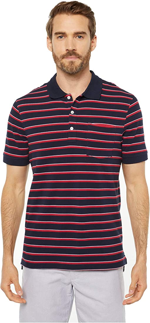 Navy/Red Ithaca Stripe