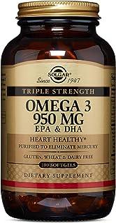 Solgar Omega 3 Triple concentración, Apoyo al Cuidado del