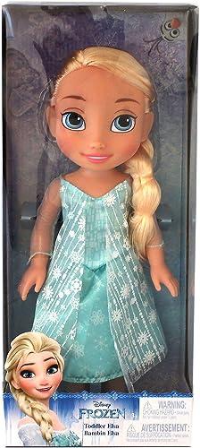 Disney 98921Frozen (Eisk gin) Elsa Puppe, 35cm  , mit glitzerndem Kleid
