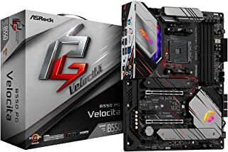 ASRock B550 PG VELOCITA Supports 3rd Gen AMD AM4 Ryzen/Future AMD Ryzen Processors motherboard