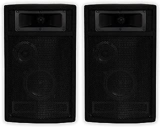 Acoustic Audio by Goldwood Acoustic Audio PA-500X Passive 800 Watt 3-Way Pair DJ PA Karaoke Studio Speakers