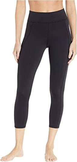 Lotus Crop Leggings