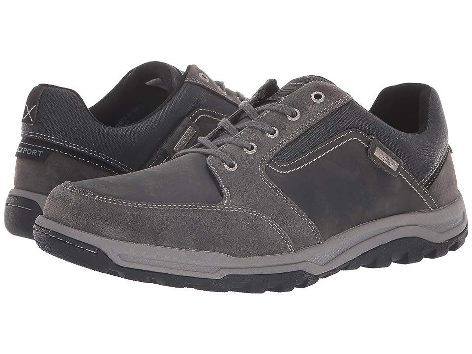 Rockport Harlee Waterproof Lace to Toe (Grey) Men