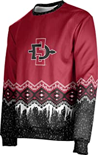 ProSphere San Diego State University Ugly Holiday Unisex Sweater - Frost