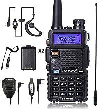 TIDRADIO TD-UV5R Radio 5W Ham Radio Upgraded Version of Baofeng UV-5R Radio Rechargeable..