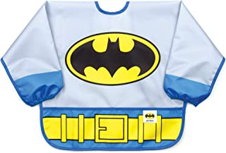 Bumkins Batman Sleeved Bib, Waterproof, Washable, 6 to 24 months