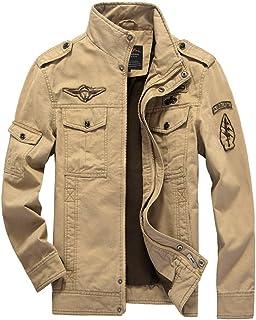 Men's Cotton Jackets Classic Retro Bomber Military Jacket Air Force Coat Spring Autumn Jacket Outdoor Track Jacket