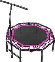 "Indoor Trampoline For Kinderen Volwassenen Fitness Trampolines Oefening Home Gym, 45"" Trampoline Verstelbare Handgreep, Bo..."