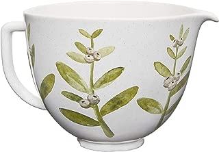KitchenAid KSM2CB5PWB 5QT Ceramic Stand Mixer Bowl, 5 Qt, Winterberry