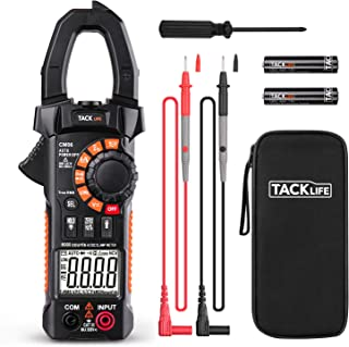 Clamp Meter Amp meter Digital Multimeter 6000 Counts with NCV Auto-Ranging Testing AC/DC Current&Voltage, Continuity Elect...