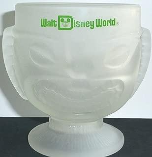 Walt Disney World Resort Polynesian Village Tiki Frosted Mug Souvenir Cup Glass
