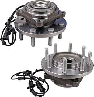 Bodeman - Pair (2) 8 Lug Wheel Front Wheel Hub and Bearing Assembly for 2012 2013 Ram 2500 3500 4WD Models