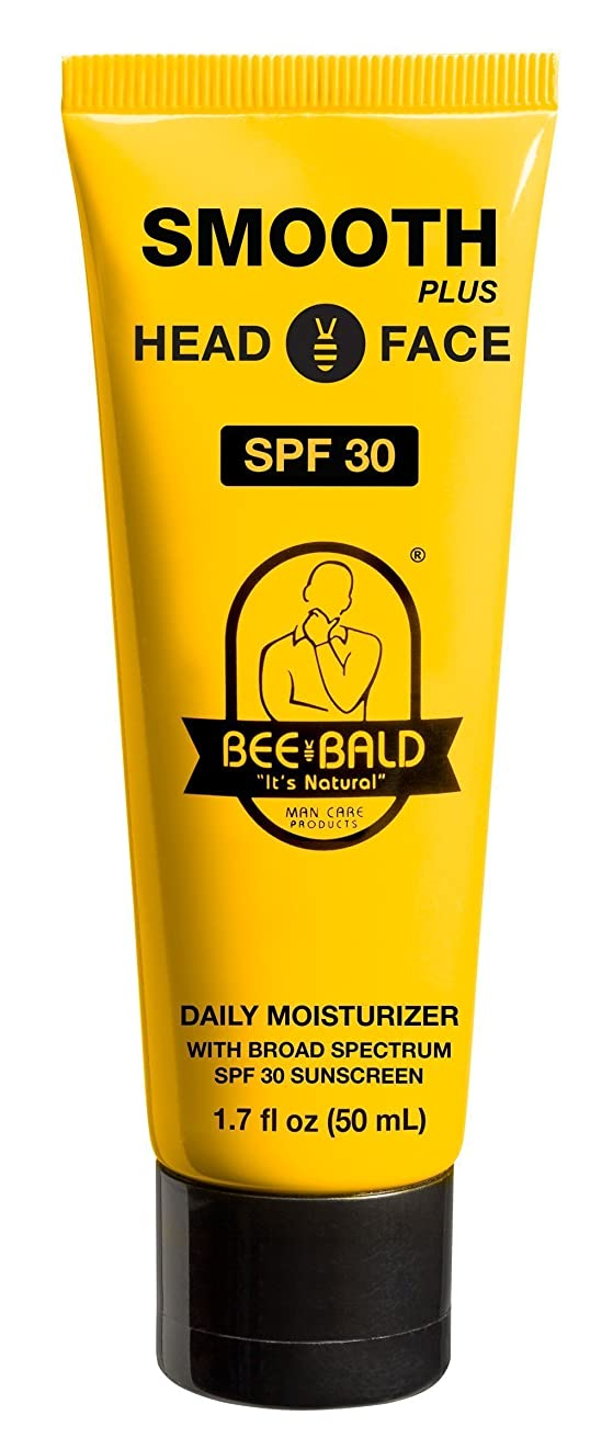 旅行者スペル風味Bee Bald SPF 30幅広いスペクトルとのスムーズなプラス毎日の保湿剤