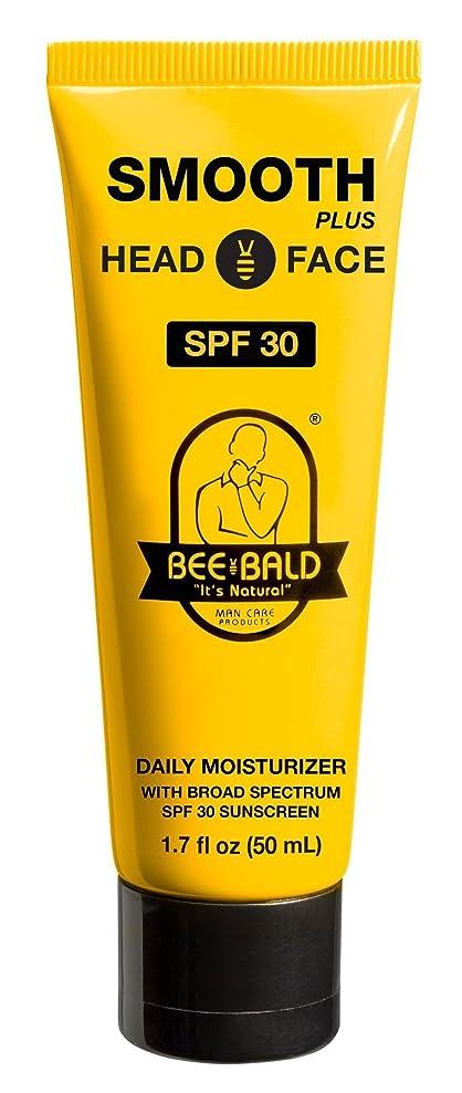 スカリー無謀蒸発Bee Bald SPF 30幅広いスペクトルとのスムーズなプラス毎日の保湿剤