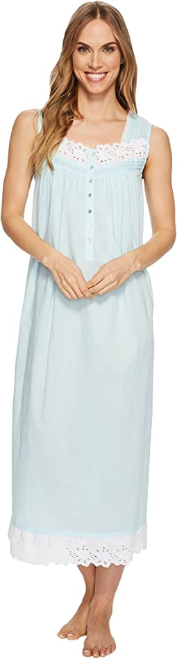 Eileen West - Cotton Lawn Sleeveless Ballet Nightgown