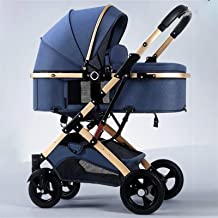 GladyStore Sillas De Paseo, Carrito Bebe, Carro Bebe, Kinder Kraft, Silla Paseo Bebe, Silla De Paseo Ligera (Color : Blue)