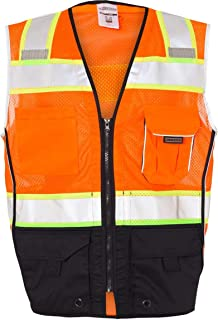 ML Kishigo 1515/1516 Black Series ANSI Class 2 Safety Vest