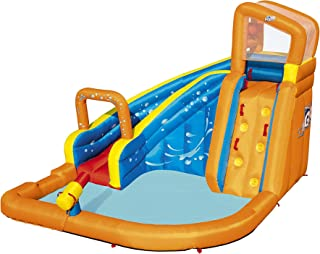 Bestway 53301 - Castillo Hinchable Acuático Turbo Splash Water Zone Mega Parque 365x320x270 cm