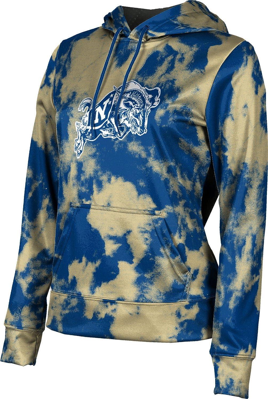 United States Naval Academy Girls' Pullover Hoodie, School Spirit Sweatshirt (Grunge)