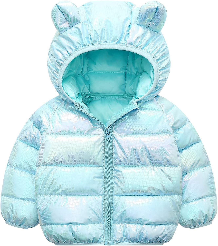 Winter Down Zip Up half Coats Luxury with Hoods Cut Girls Baby Boys Kids for