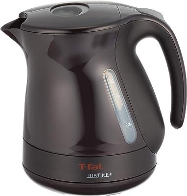 T-FAL electric kettle (1.2L) Justin plus cacao black KO3408JP