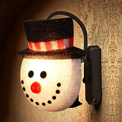 2 Pack Christmas Snowman Porch Light Covers Holiday Decoration for Outdoor Wall 12\ Decorations Snowman: Amazon.com