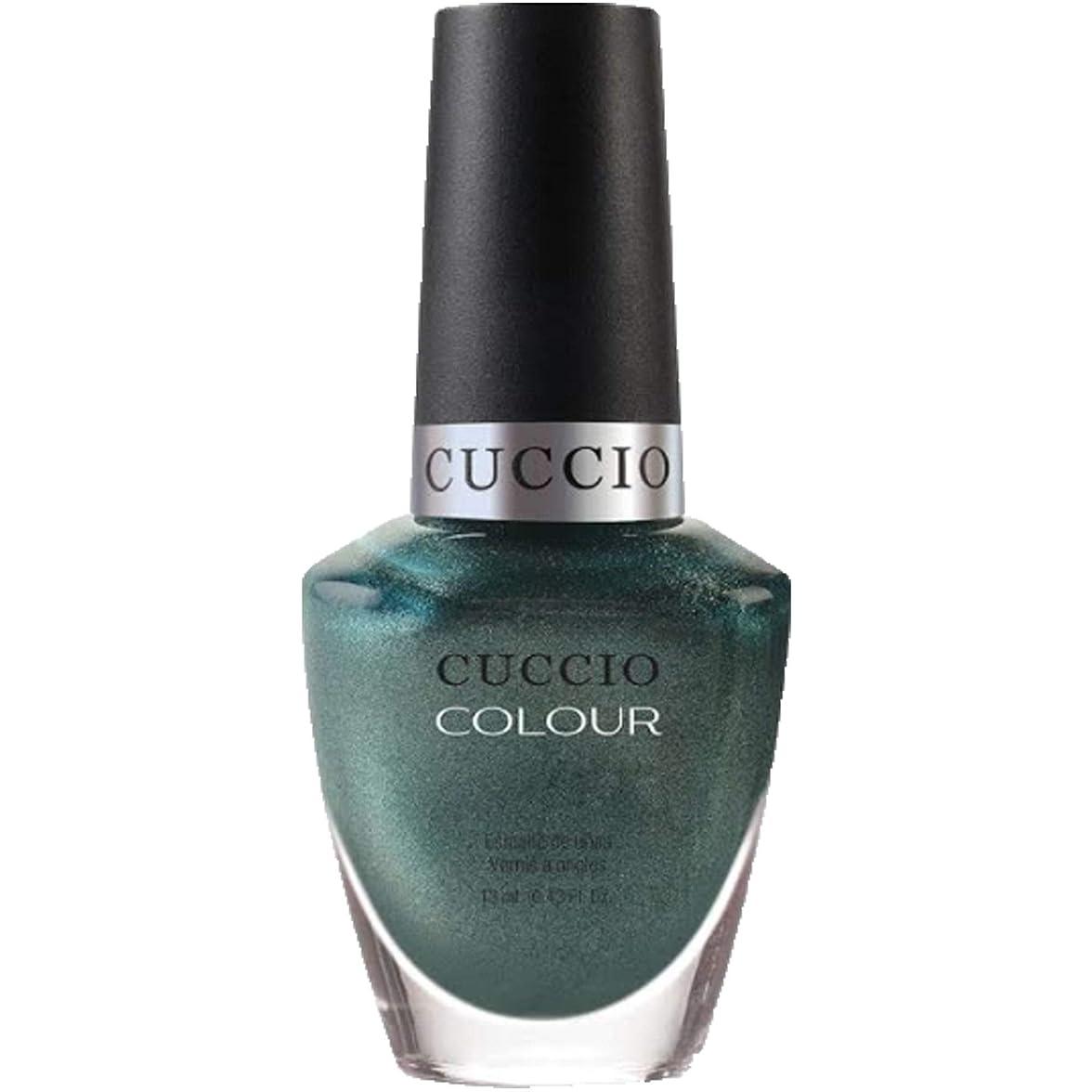 明確に裏切り者追加するCuccio Colour Gloss Lacquer - Notorious - 0.43oz / 13ml